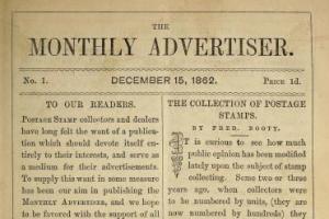 Prvi filatelistički časopis